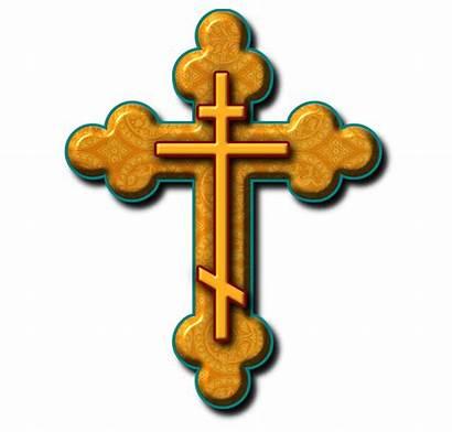 Orthodox Cross Russian Church Clipart Clip Eastern