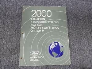2000 Ford F350 Sd 7 3l Diesel Engine Shop Service Repair