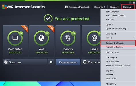 disable avg antivirus  system tray notifications