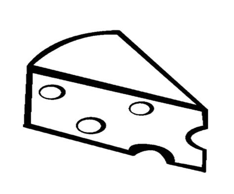 cheese coloring page getcoloringpagescom