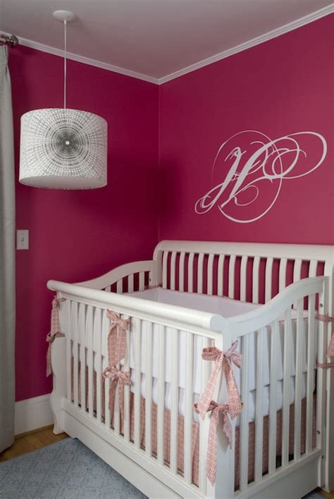 pink nursery contemporary nursery benjamin
