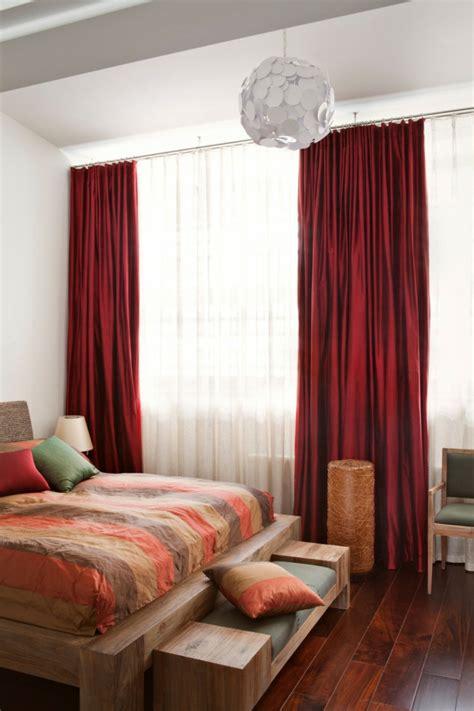 vorhänge im schlafzimmer schlafzimmer vorhang design raumgestaltung in 50 ideen