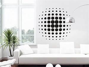 Schablonen Für Die Wand : wandtattoo 3d kreise als ball ~ Watch28wear.com Haus und Dekorationen