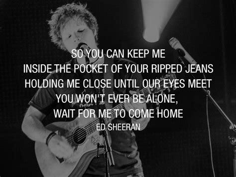 ed sheeran photograph musical inspiration pinterest