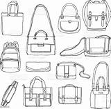 Drawn Bags Illustration Vector Bag Ai Istock sketch template
