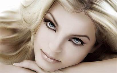 Face Faces Pretty Wallpapers Background Female Beauty
