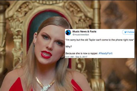 Fans Had A Lot Of Thoughts About Taylor Swift Rapping In