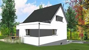 Maison Moderne Toit Plat : cabinet de maitrise d 39 oeuvre c maison contemporaine 2 ~ Nature-et-papiers.com Idées de Décoration