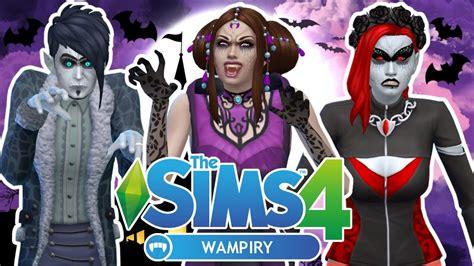 sims  wampiry  ubrania fryzury dodatki youtube