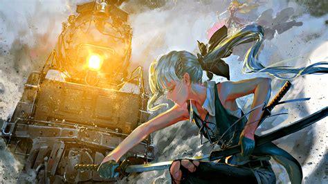 anime fantasy war  wallpaper