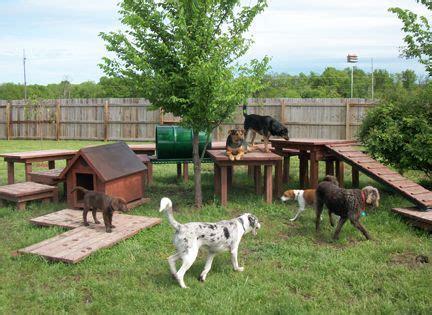 Dog Backyard Playground  Sweet Dreams Doghouse Homei