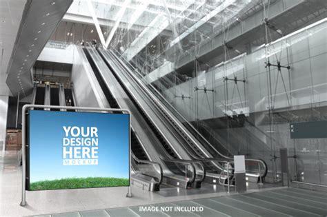 5,000+ vectors, stock photos & psd files. Big blank screen on wall glass, mockup | Premium PSD File
