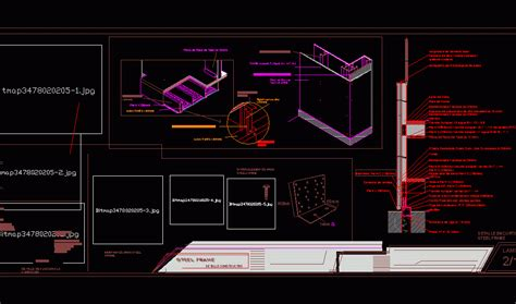 construction details steel frame dwg detail  autocad