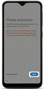 Samsung Galaxy A10e Setup Guide
