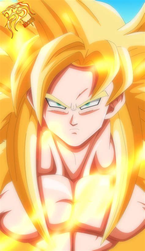 Goku Super Saiyan God By Nikocopadod5wv01k By