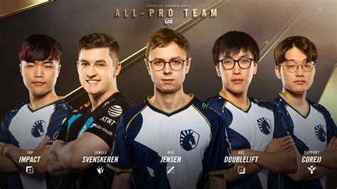 team liquid players named  summer lcs  pro st team