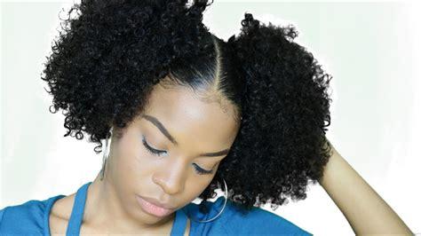 2 Ponytails/puff Balls/pigtail Hair Tutorial