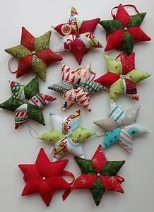 Weihnachten Nähen Ideen : diy anleitung stoff sterne selber n hen patchwork sterne f r weihnachten n hen n hen pinterest ~ Eleganceandgraceweddings.com Haus und Dekorationen