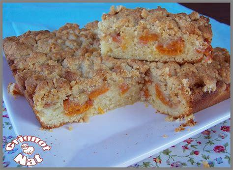 crumble fondant aux abricots et poudre d amande