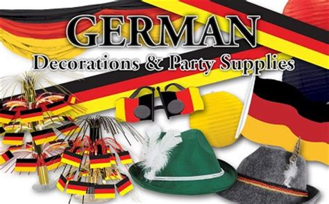 German Party Decorations And Party Supplies Partycheap