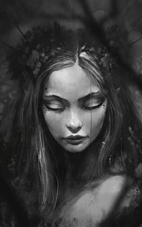 wild dark faeries by coliandre on deviantart just