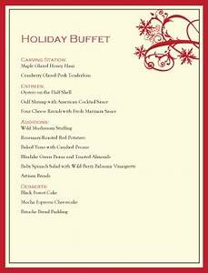 Easy Buffet Lunch Menu to Pin on Pinterest