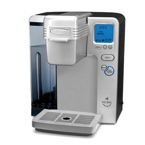 cuisine arte cuisinart ss 700 single serve keurig brewing system