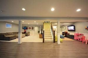 basement lvt lvp luxury vinyl plank flooring 4 hupehome With 4 basement flooring ideas to create comfortable basement