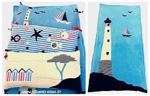 Tour De Lit Bleu Marine : collection mer rouge bleu blanc ribamb 39 elles ~ Teatrodelosmanantiales.com Idées de Décoration