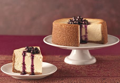 goat cheese cheesecake  blueberry sauce aldi