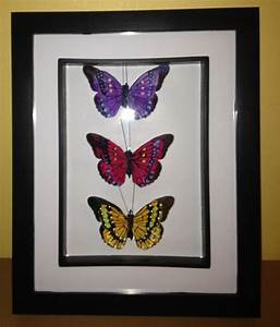 diy framed butterfly wall art tashieka mctaggart With what kind of paint to use on kitchen cabinets for 3d butterfly wall art diy