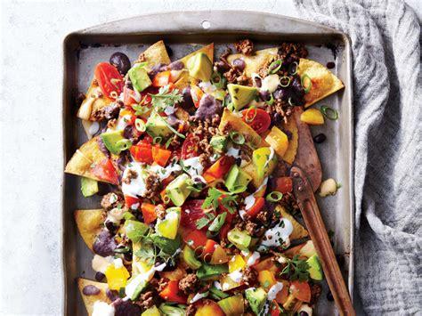 nachos sheet beef pan bean cooking recipe recipes