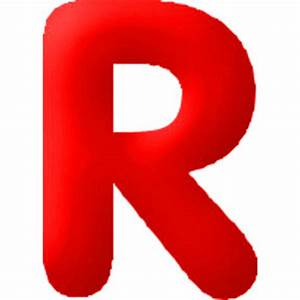 Discontinued Inflatable Letters Red R | eBay