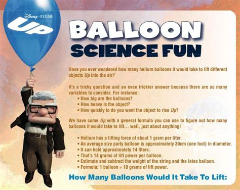 disneys  balloon science fun  printable coloring