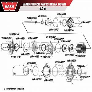 Warn 68898 Warn Winch Motor Kit