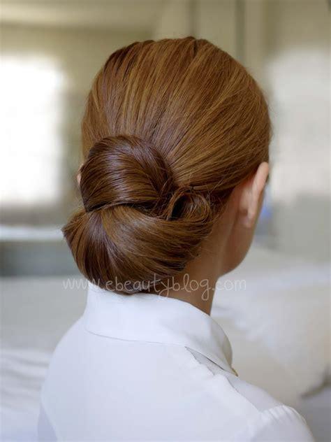 ebeautyblog com hair tutorial easy elegance hair bun
