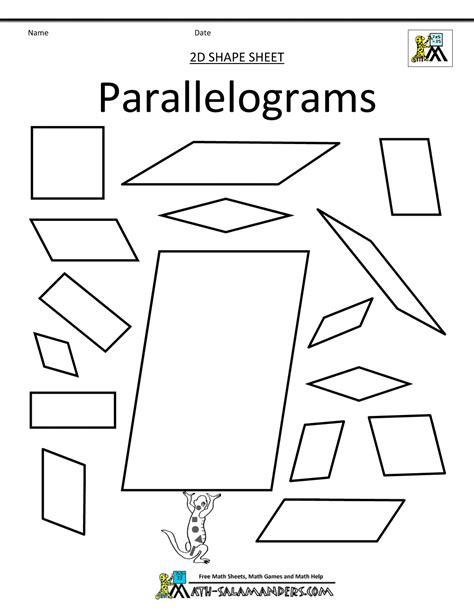 shapes clip grade 2d shapes