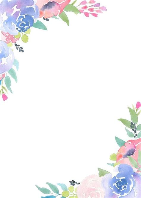 floral frame clipart flower arrangement pre