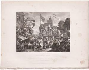 U0026quot Southwark Fair U0026quot  By William Hogarth