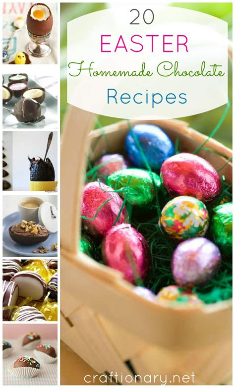easter homemade chocolate recipes craftionary