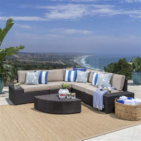 Deals On Outdoor Furniture by Christopher Home 214311 Reddington Outdoor Wicker