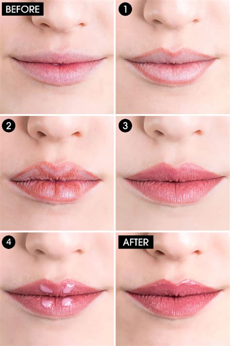 tips de maquillaje  presumir unos labios carnosos fuller lips makeup lips fuller