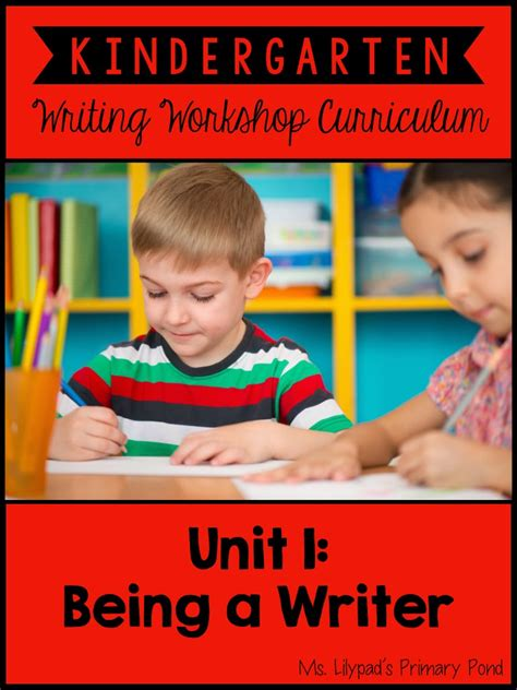 kindergarten writing tips for the beginning of the year 494 | KinderUnit1Dummy.001