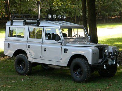 67 land rover 109 lhd like defender gm v8 conversion custom interior lifted for sale