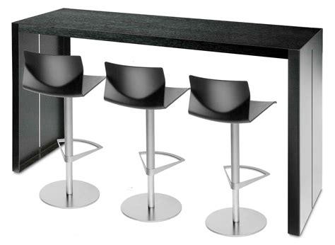 Barhocker Und Tisch by Scopri Tavolo Alto Panco H 110 Cm Nero L 180 Cm Di La