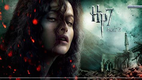 Helena Bonham Carter Face Closeups In Harry Potter And The