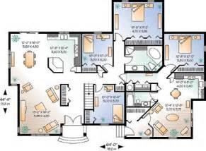 Spectacular Bedroom Floor Plan Layout by Multigenerational Home Designs Floor Plans