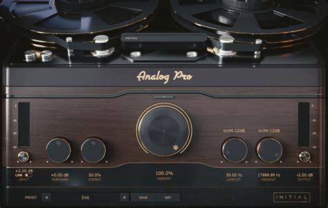 Initial Audio's Analog Pro plugin simulates tape machines ...
