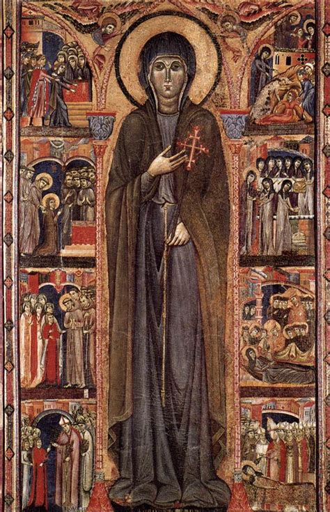clare abbess at assisi 1253 for all the saints