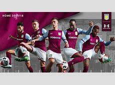 Aston Villa 1718 Home Kit Released Footy Headlines